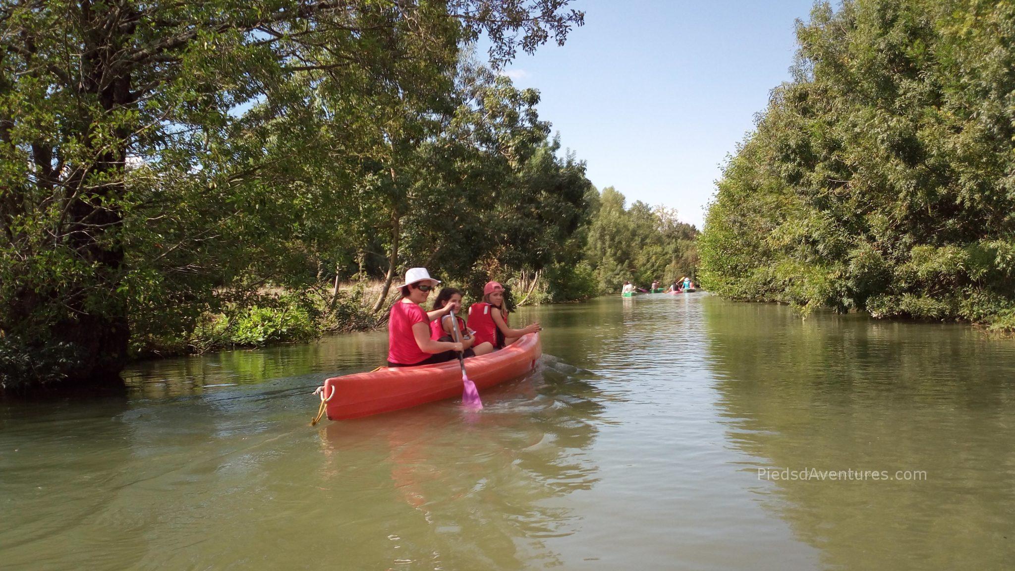 Randonnée en canoë en Vendée